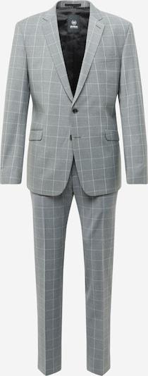 STRELLSON Costume en gris / blanc, Vue avec produit