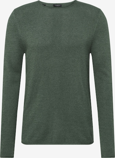 SELECTED HOMME Pullover 'SLHROCKY CREW NECK B NOOS' in tanne, Produktansicht