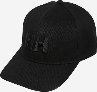 HELLY HANSEN Casquette de sport 'HH BRAND' en noir, Vue avec produit