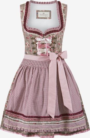 STOCKERPOINT Dirndl 'Talita' in pink / rot, Produktansicht