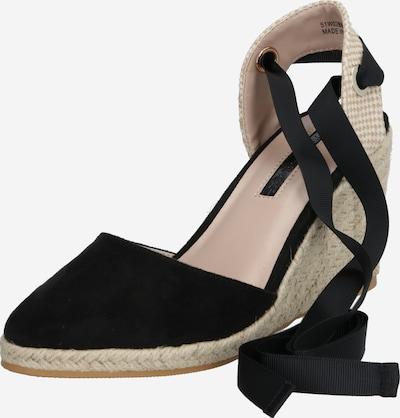 Miss Selfridge Sandaal 'WINNY' in de kleur Zwart, Productweergave