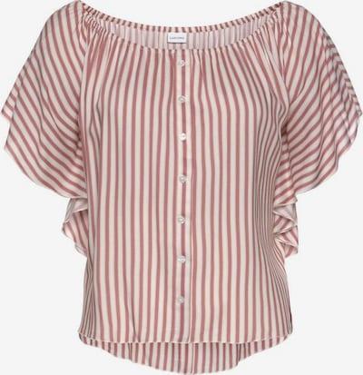 BUFFALO Bluse 'Buffalo' in pink / weiß, Produktansicht
