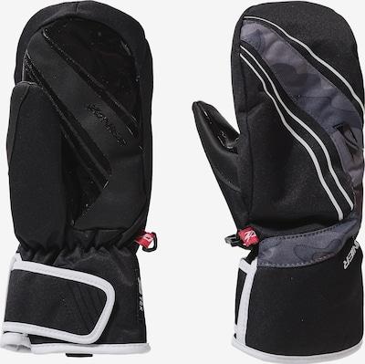 Zanier Fausthandschuhe in grau / schwarz, Produktansicht