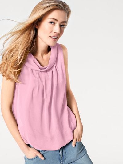 heine Bluse i rosé, Modelvisning