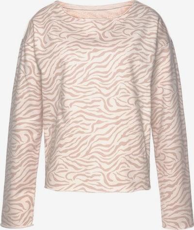 LASCANA LASCANA Sweatshirt in beige, Produktansicht