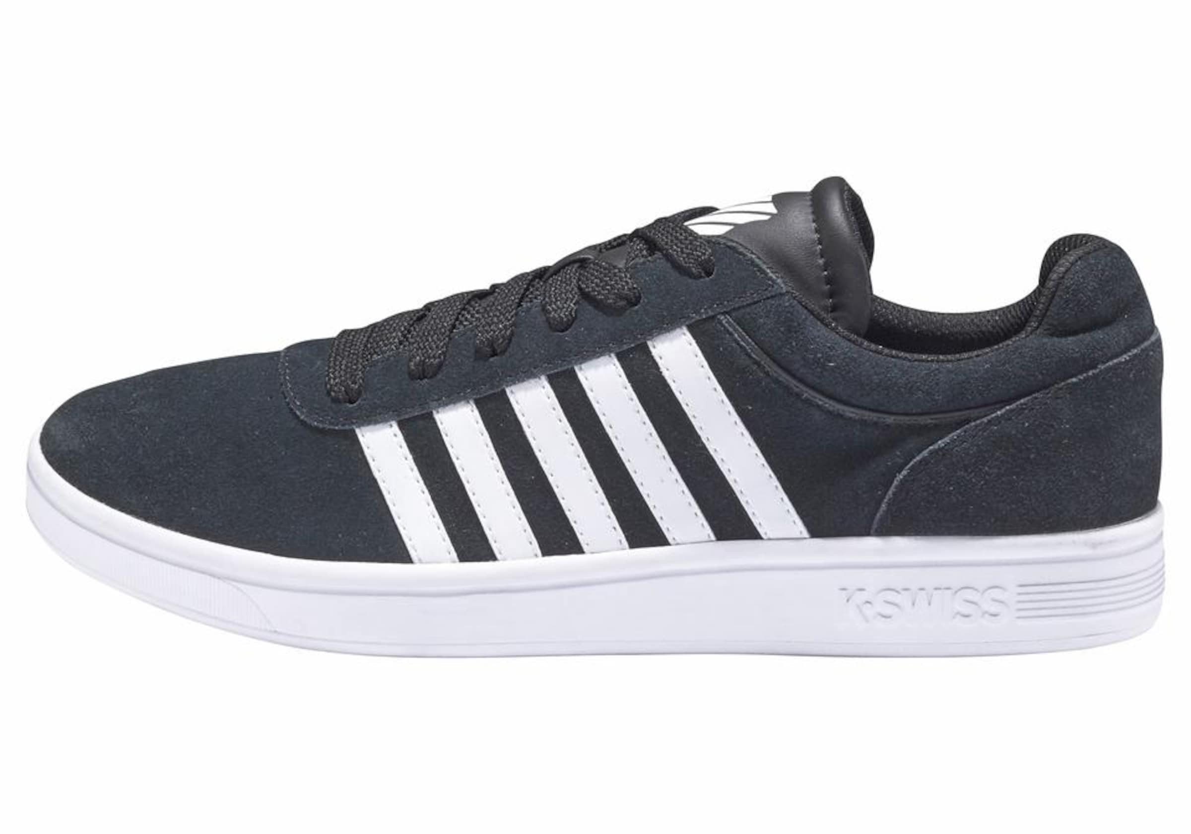 'court In K Sneaker Cheswick swiss Schwarz Suede' htdxQsrC