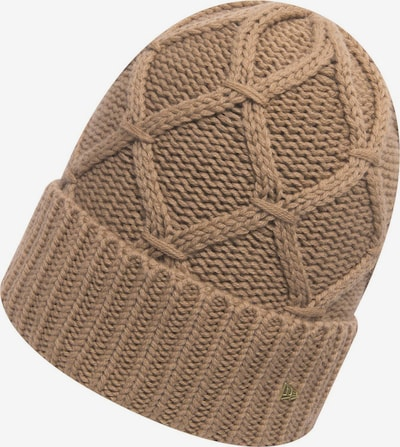 NEW ERA Bonnet ' Cashmere Blend Cuff W ' en beige, Vue avec produit