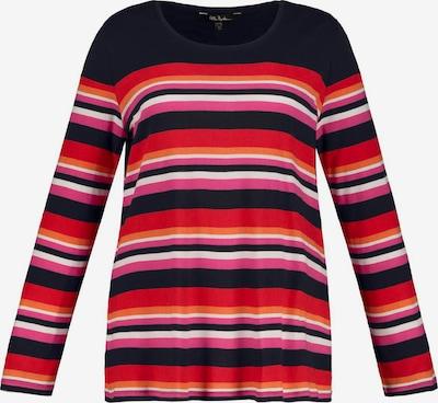 Ulla Popken Shirt in de kleur Grijs / Pink, Productweergave