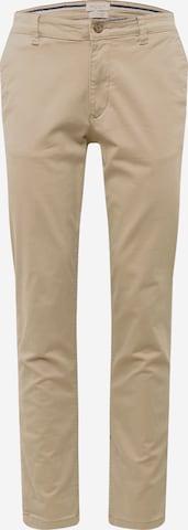 Pantalon chino SELECTED HOMME en beige