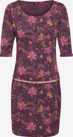 Ragwear Kleid 'TANYA FLOWERS' in aubergine, Produktansicht