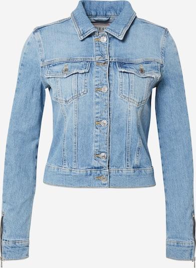 GUESS Jeansjacke 'ADELYA' in blue denim, Produktansicht