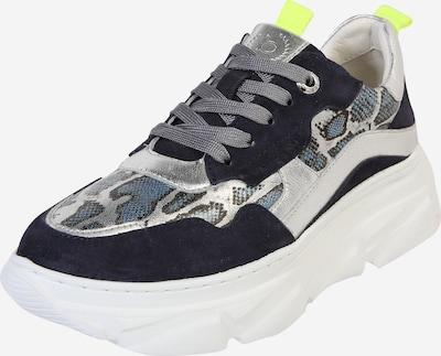 bugatti Sneaker 'Nava' in dunkelblau / grau / weiß, Produktansicht
