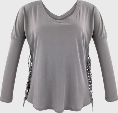trueprodigy Langarmshirt in grau, Produktansicht