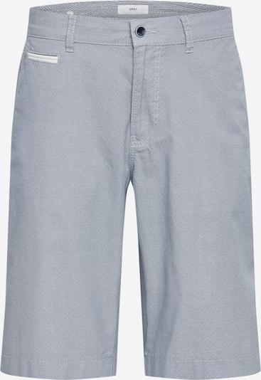 Chino stiliaus kelnės 'Bari C' iš BRAX , spalva - melsvai pilka / balta, Prekių apžvalga