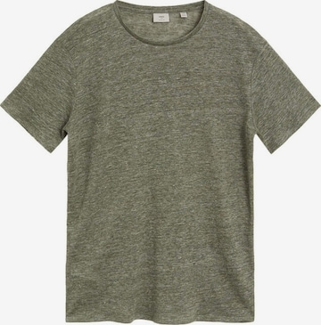 MANGO MAN T-Shirt in Grün