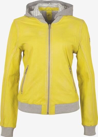Gipsy Lederjacke 'GGMoxi LULV' in gelb, Produktansicht
