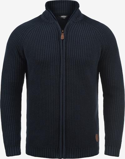!Solid Gebreid vest 'Xenos' in de kleur Blauw, Productweergave
