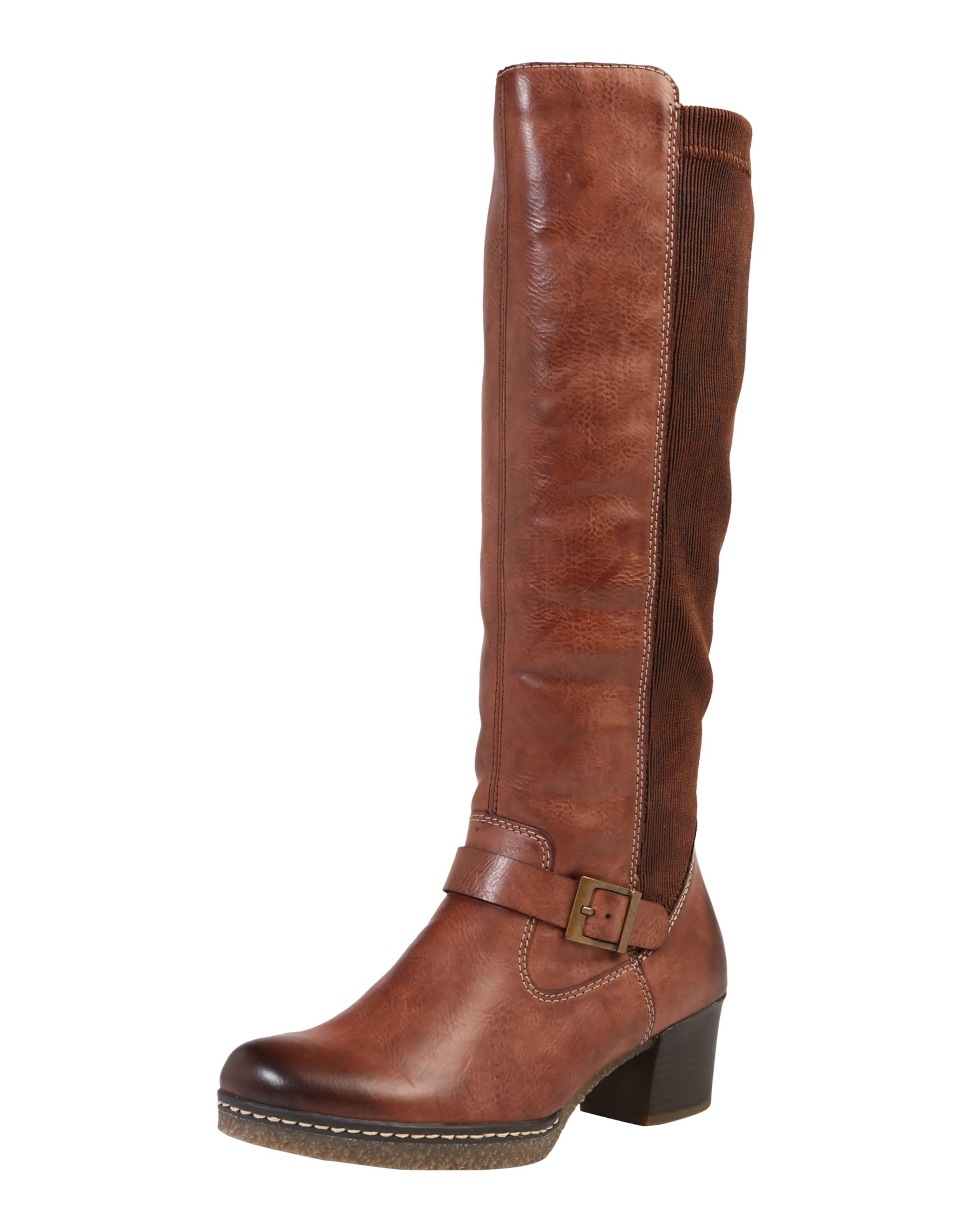 RIEKER Stiefel mit Schnalle Verschleißfeste billige Schuhe