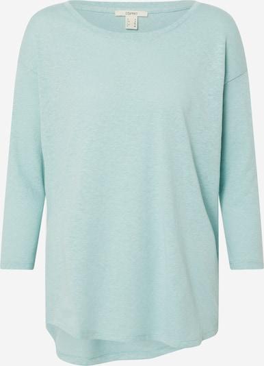 ESPRIT Shirt 'Linen' in aqua, Produktansicht