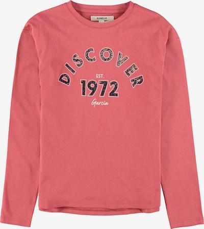 GARCIA Shirt in rosa / schwarz, Produktansicht