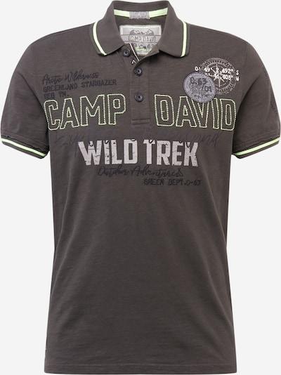 CAMP DAVID Majica 'Greenland' u boja blata, Pregled proizvoda