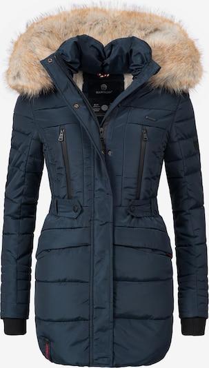 MARIKOO Mantel in dunkelblau, Produktansicht