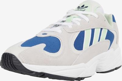 ADIDAS ORIGINALS Sneaker 'Yung-1' in blau / grau / apfel, Produktansicht
