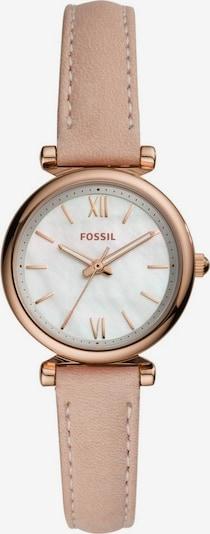 FOSSIL Quarzuhr 'Carlei Mini' in rosegold / altrosa / perlweiß, Produktansicht