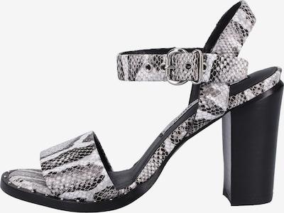 BRONX Sandalen in grau / schwarz / weiß, Produktansicht