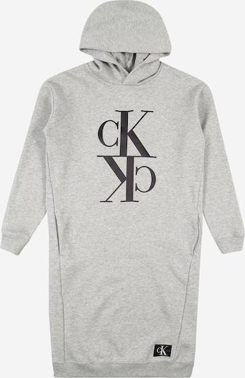 Calvin Klein Jeans Kleid in graumeliert, Produktansicht