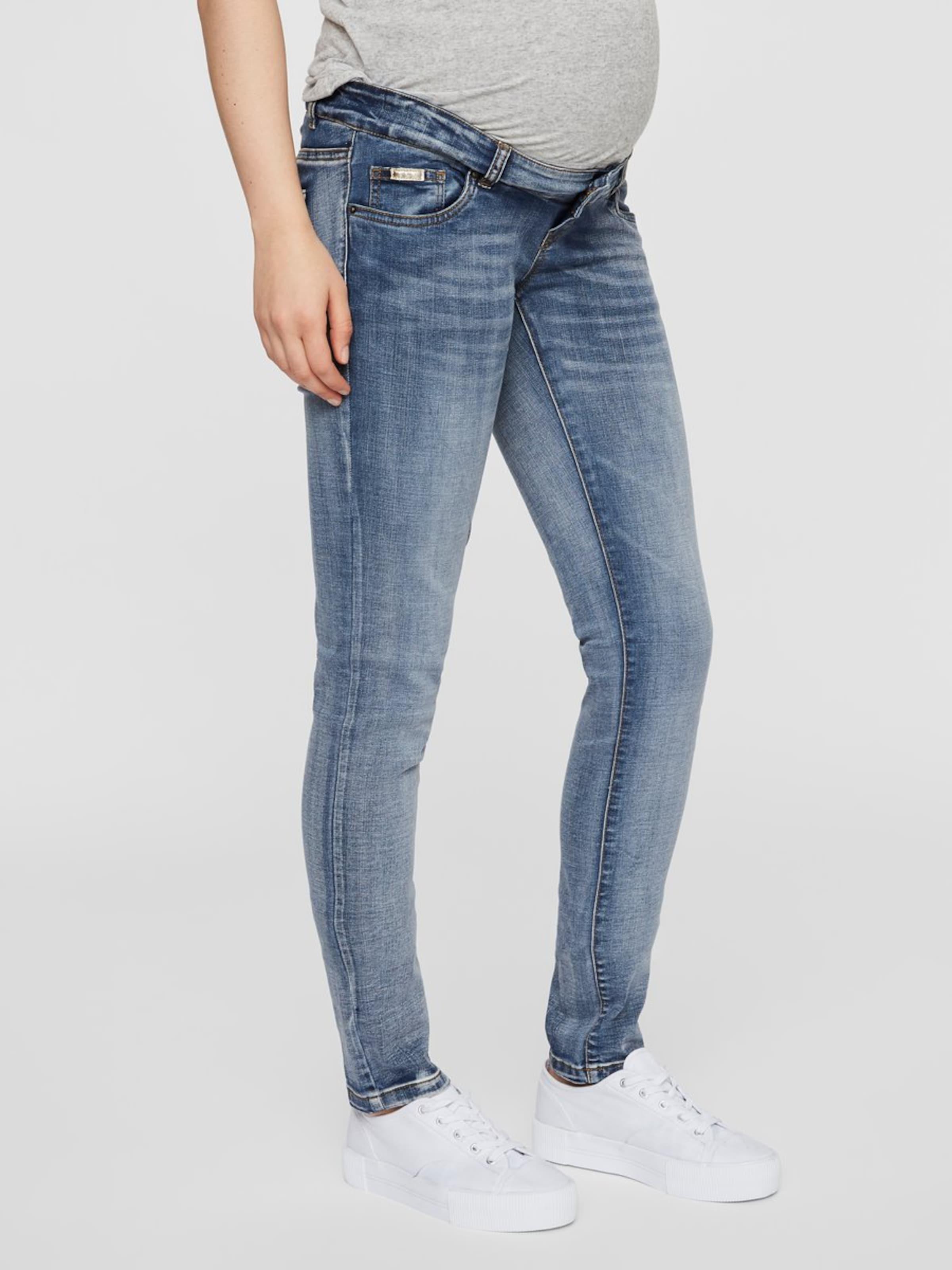 Mamalicious Jeans Mamalicious Blue Blue Jeans Denim In Jeans Denim Mamalicious In Blue In Yg6If7vby