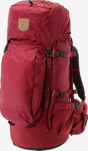 Fjällräven Rucksack 'Abisko 55' in Rot