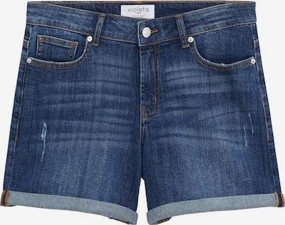 VIOLETA by Mango Shorts in dunkelblau, Produktansicht