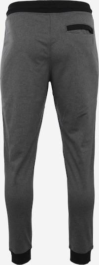 UNDER ARMOUR Sporthose in graumeliert / schwarz: Rückansicht