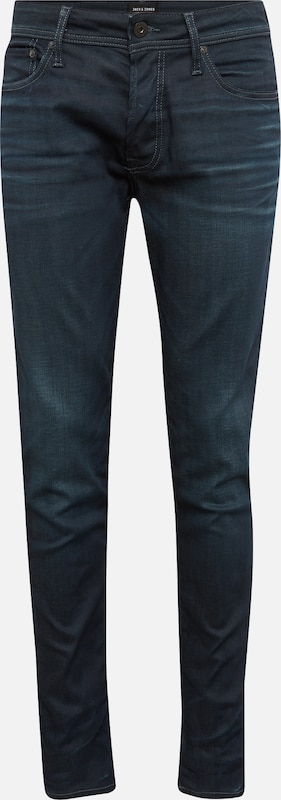 JACK & JONES Jeans 'JJITIM JJORIGINAL JJ 120 NOOS' in blue denim: Frontalansicht