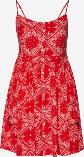 Superdry Kleid 'Amelie' in rot / weiß, Produktansicht
