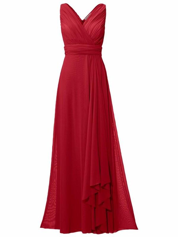 e9fa6e16e0 heine Suknia wieczorowa w kolorze czerwonym