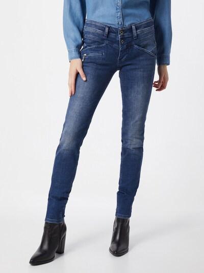 FREEMAN T. PORTER Jeans 'Coreena SDM' in blau, Modelansicht
