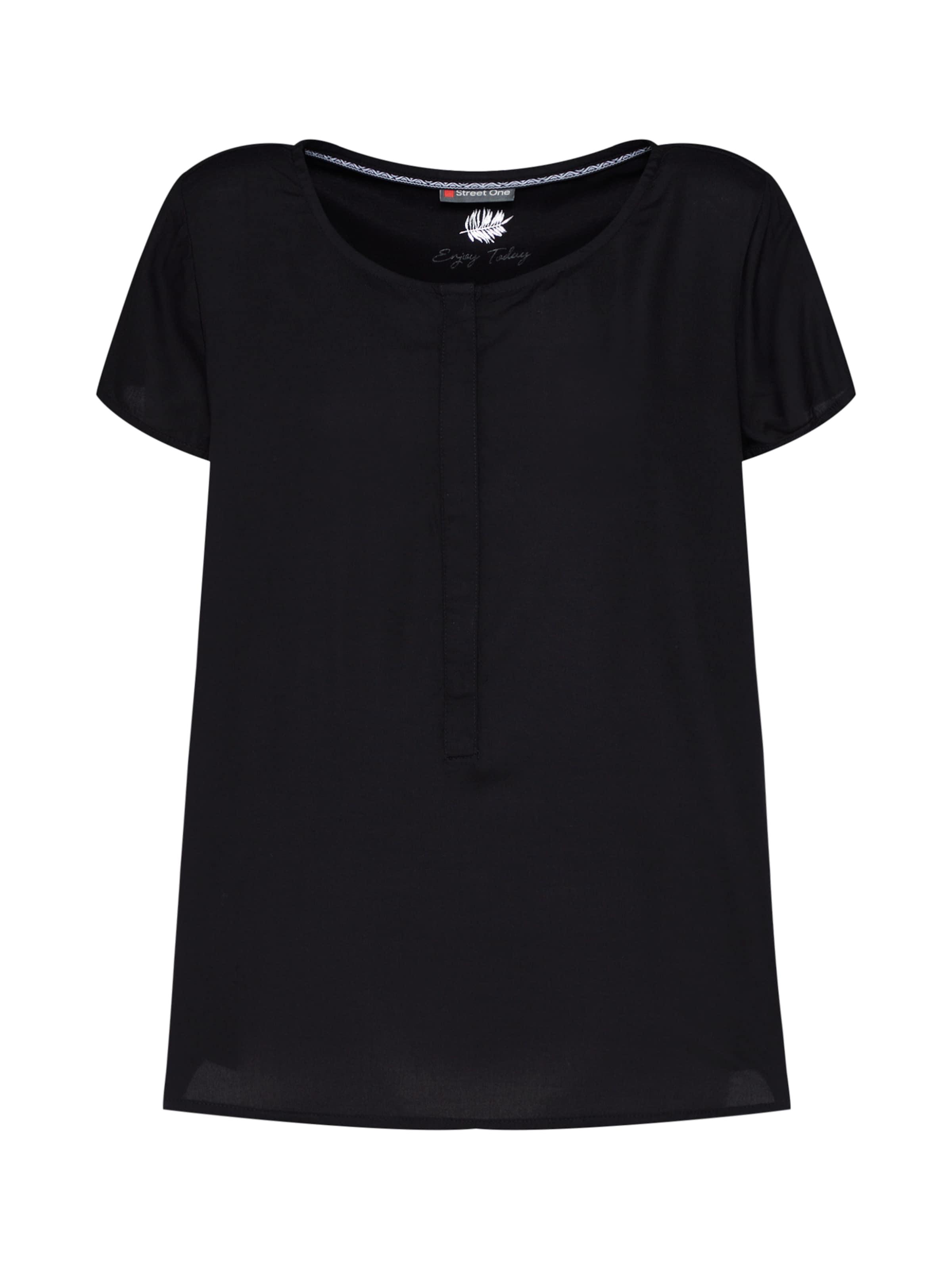 Street One 'vivian' Schwarz Bluse In Nnw80vm