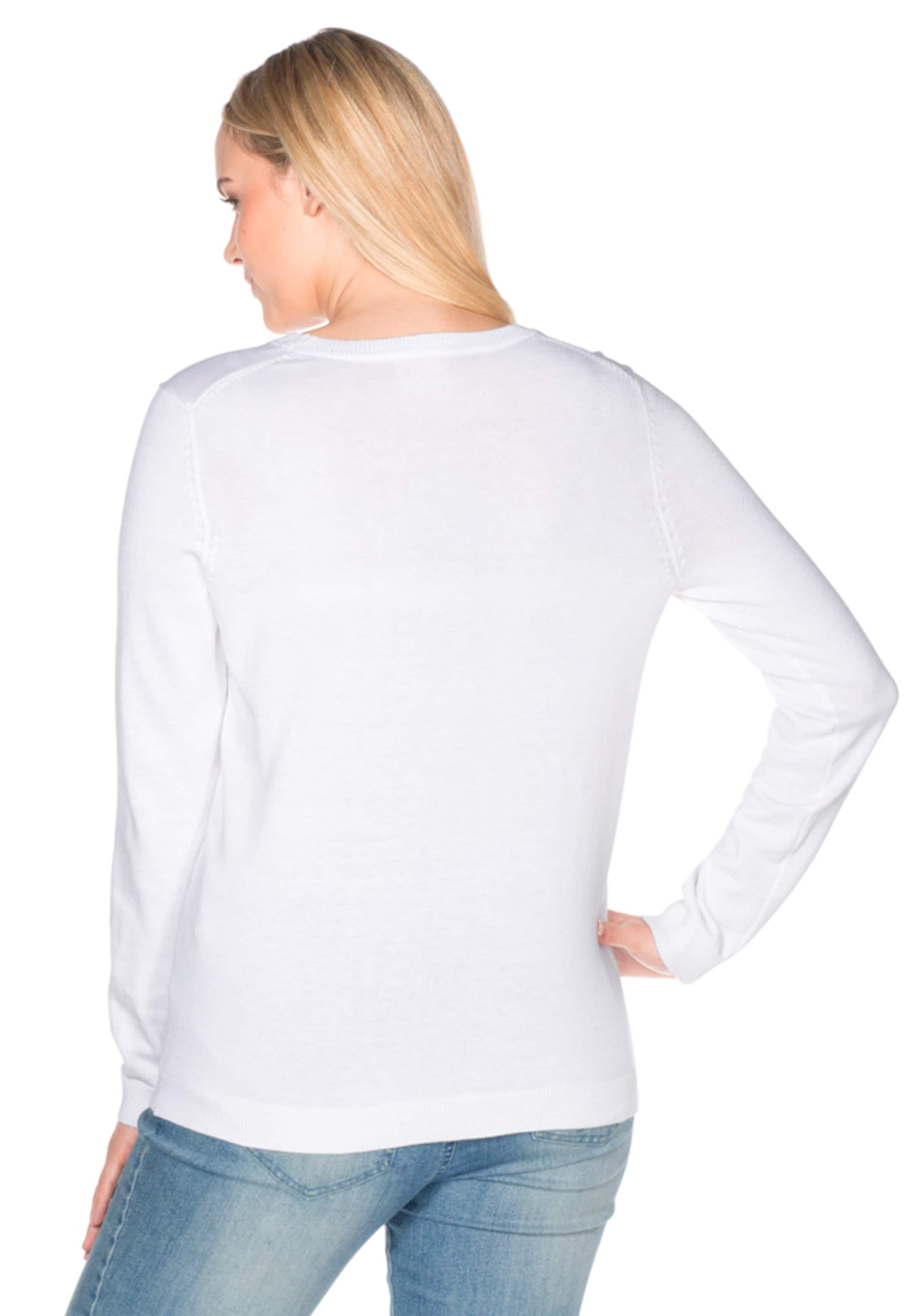 Original- Freies Verschiffen Wahl sheego casual Basic Pullover R1V8jEyvaC