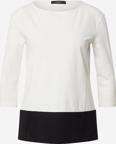 Weekend Max Mara T-shirt 'MULTIA' en noir / blanc, Vue avec produit