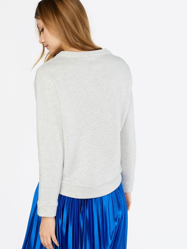 TOM TAILOR DENIM Pullover 'Terry Patch'