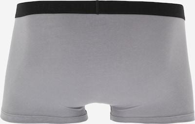 SCHIESSER Boxershorts (2er Pack) in grau / schwarz: Rückansicht