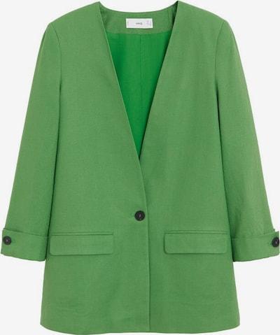 MANGO Blazer 'Emma' in grün, Produktansicht