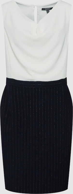 Esprit Collection Kleid in navy     weiß  Große Preissenkung 531bd8