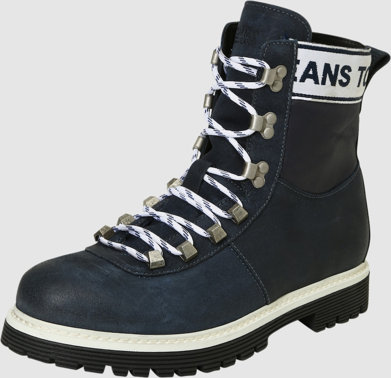 Tommy Jeans | Winter-Stiefel im Material-Mix