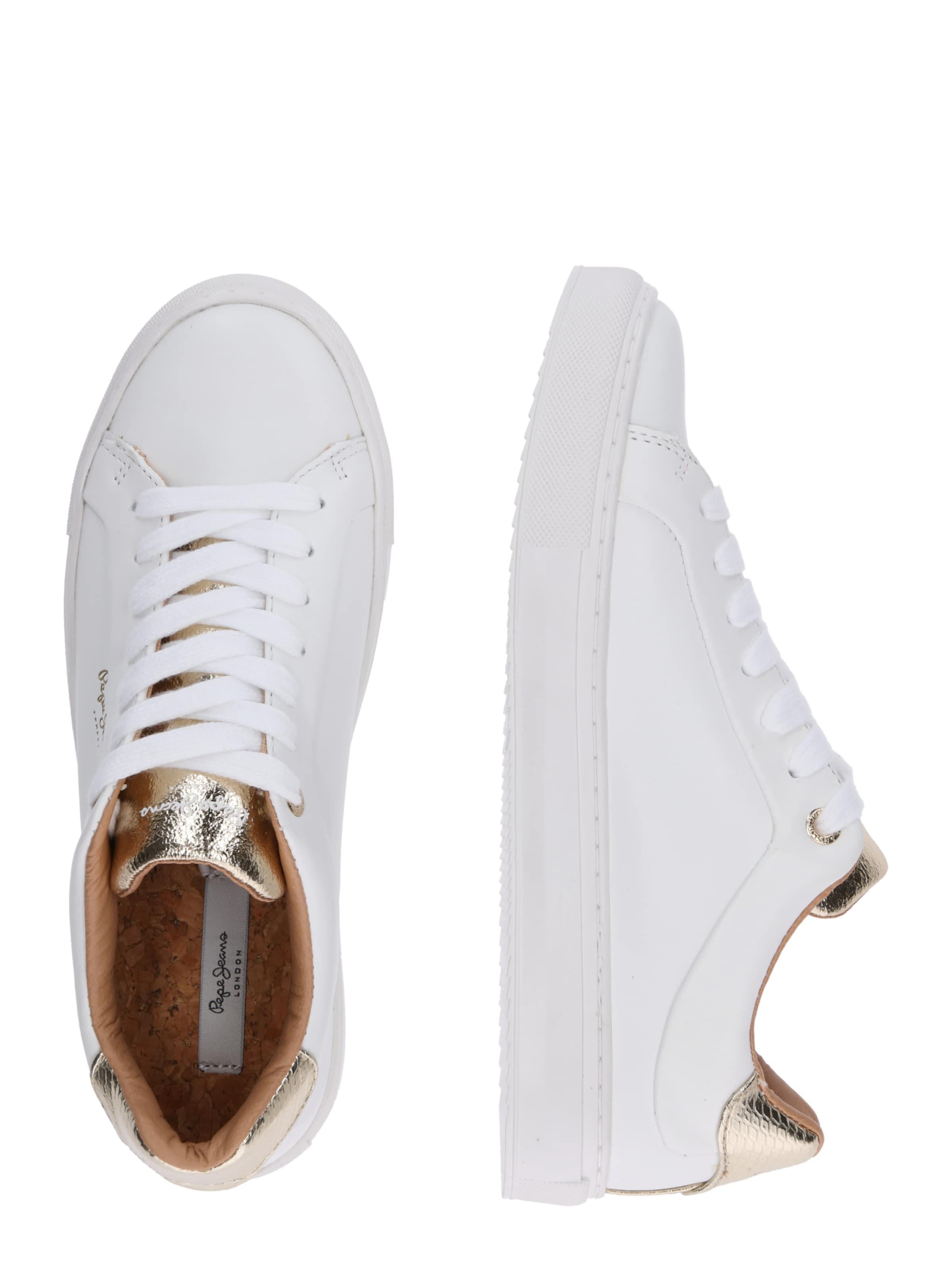 Jeans Sneaker Pepe 'adams In Weiß Premium' gybf76Y