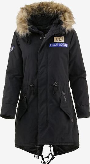 khujo Parka d'hiver 'Kenita 2' en noir, Vue avec produit