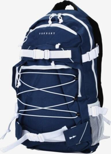 Forvert Rucksack 'Ice Louis' in dunkelblau / weiß, Produktansicht