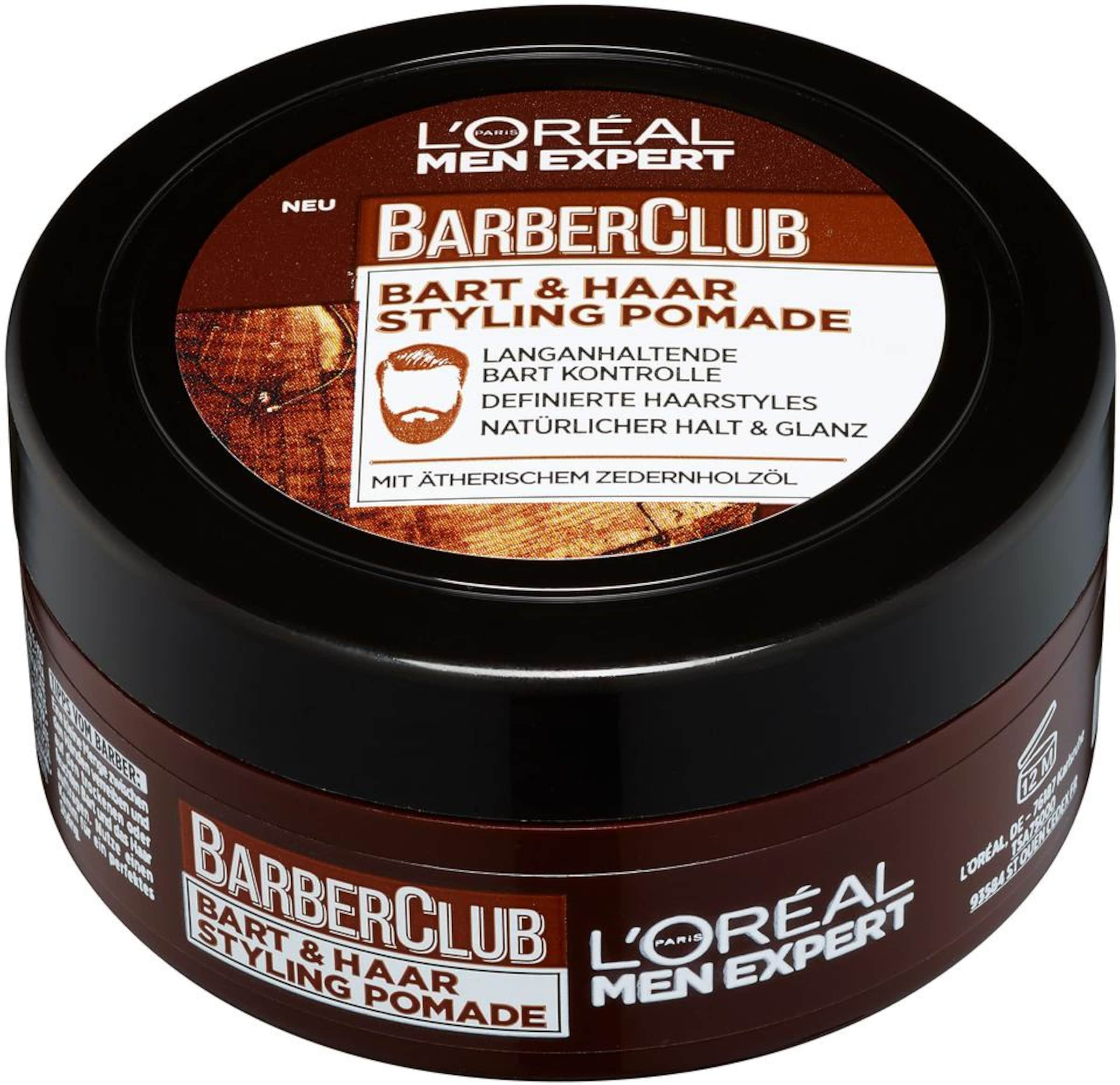 L'Oréal Paris men expert 'Barber Club Bart und Haar Styling Pomade', Bartstyling
